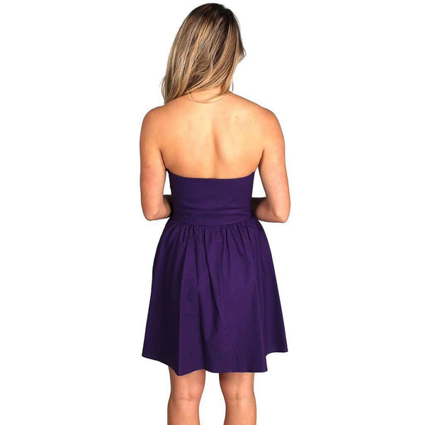 The Savannah Dress in Purple by Lauren James  - 2