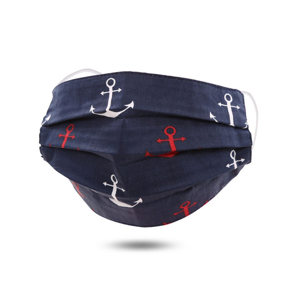 Anchor Cotton Mask by Queen Designs