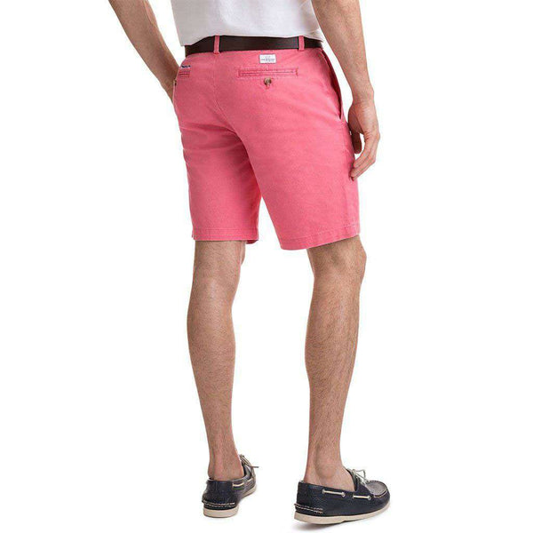 Vineyard Vines 9 Inch Stretch Breaker Shorts in Lobster Reef by Vineyard Vines