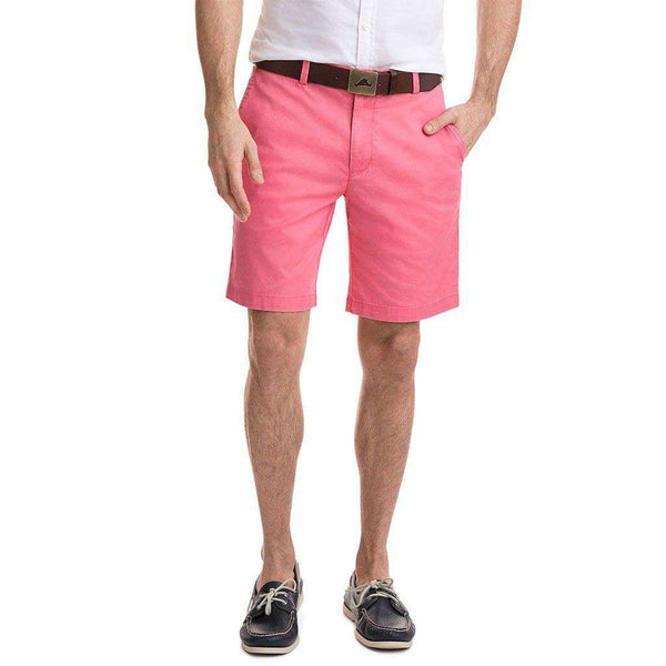 9 Inch Stretch Breaker Shorts in Lobster Reef by Vineyard Vines
