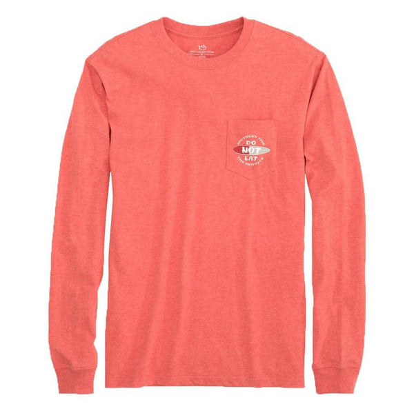 Southern Tide Long Sleeve Do Not Eat T-Shirt by Southern Tide