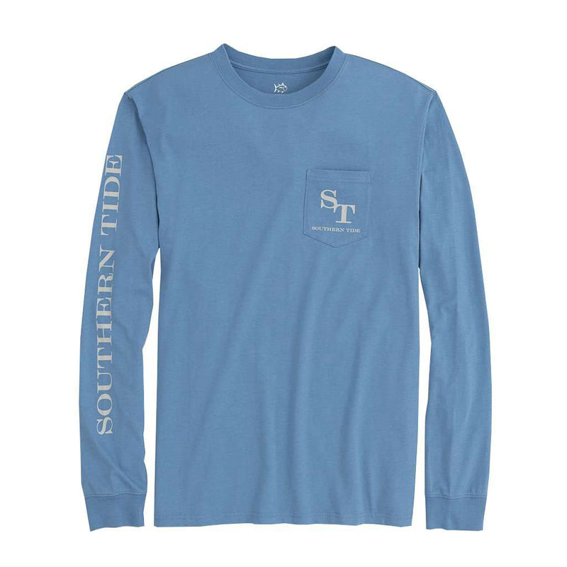 Southern Tide Long Sleeve Outline Skipjack T-Shirt by Southern Tide