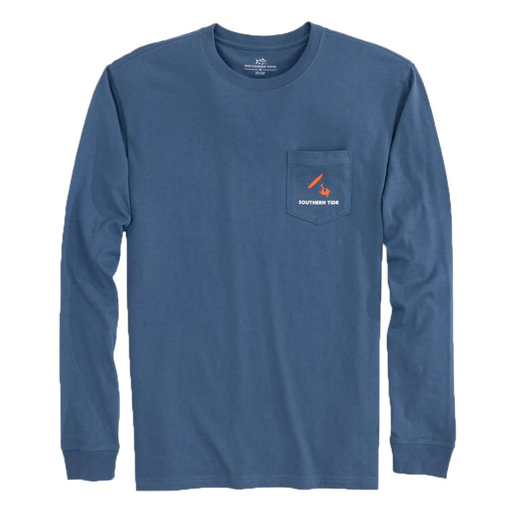Long Sleeve Stand Up 101 T-Shirt by Southern Tide