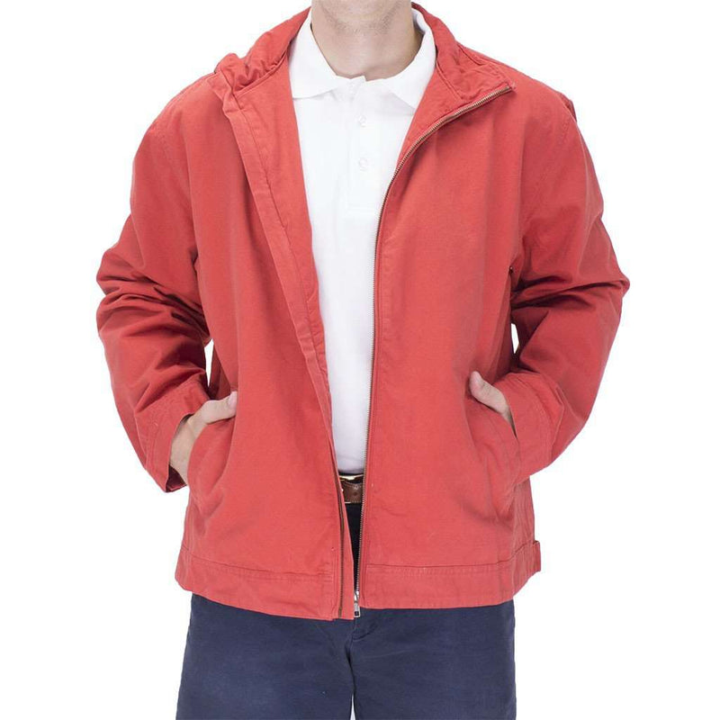 Mariner Jacket in Island Red by Castaway Clothing - FINAL SALE