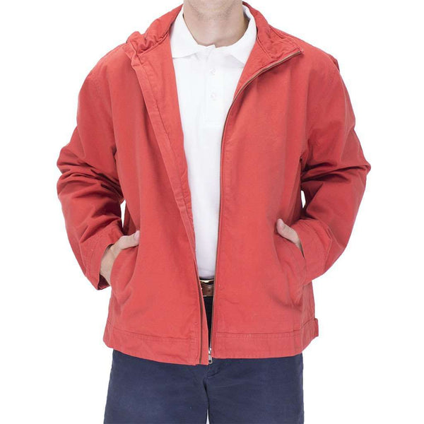 Mariner Jacket in Island Red by Castaway Clothing  - 1