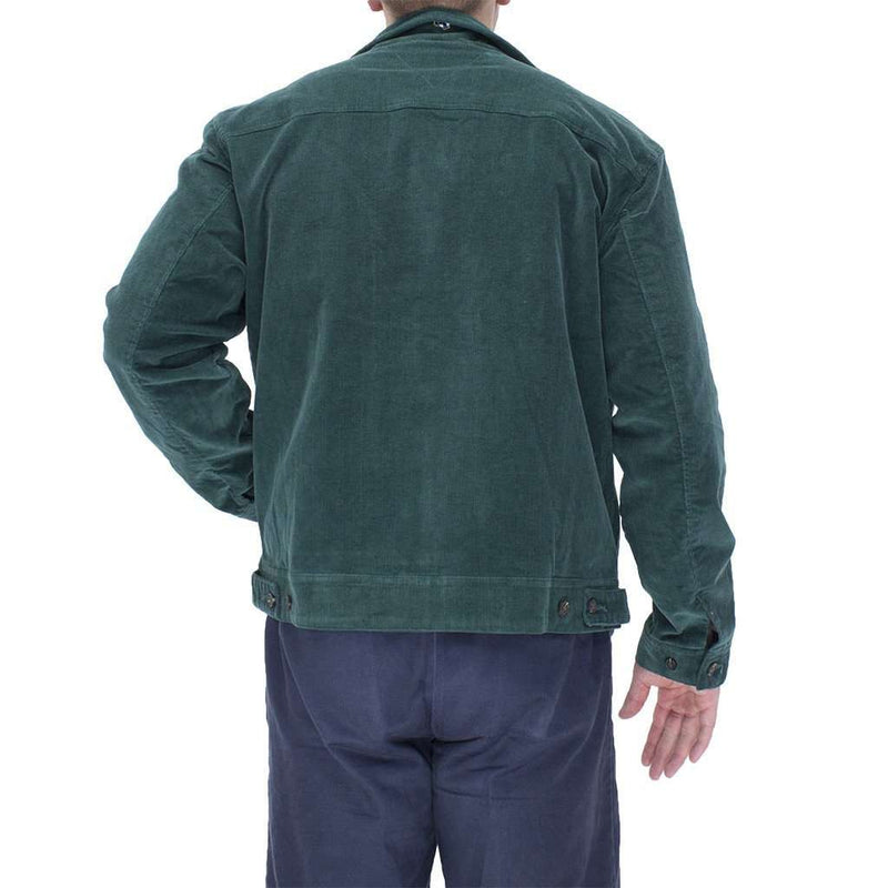 Mariner Jacket Hunter Green Corduroy by Castaway Clothing - FINAL SALE