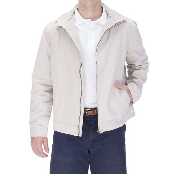 Mariner Jacket in Tan by Castaway Clothing  - 1