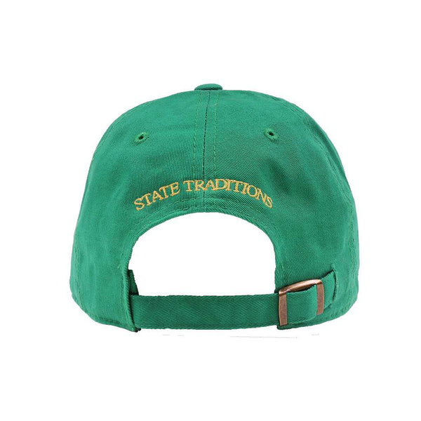 Georgia Augusta Hat in Green by State Traditions