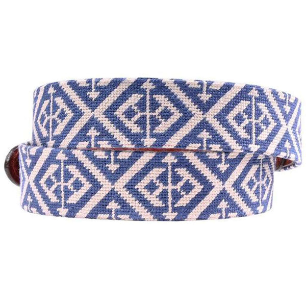 Scarsdale Needlepoint Belt by Smathers & Branson