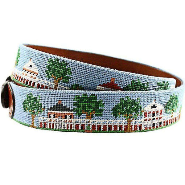 University of Virginia Custom Lawn Belt in Light Blue by Smathers & Branson