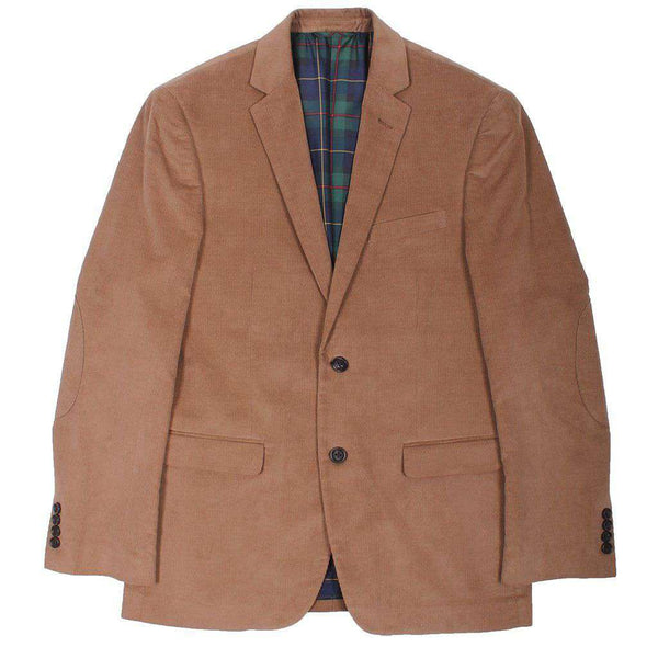 Men's Blazers & Suits - Corduroy Blazer In Brown By Country Club Prep