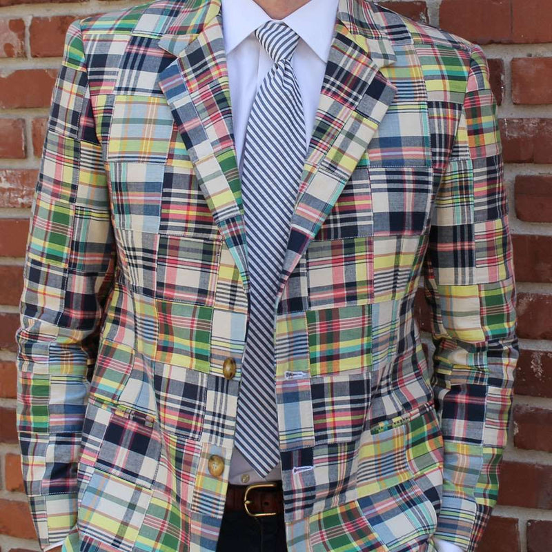 Men's Blazers & Suits - Madras Blazer In Great Island By Just Madras