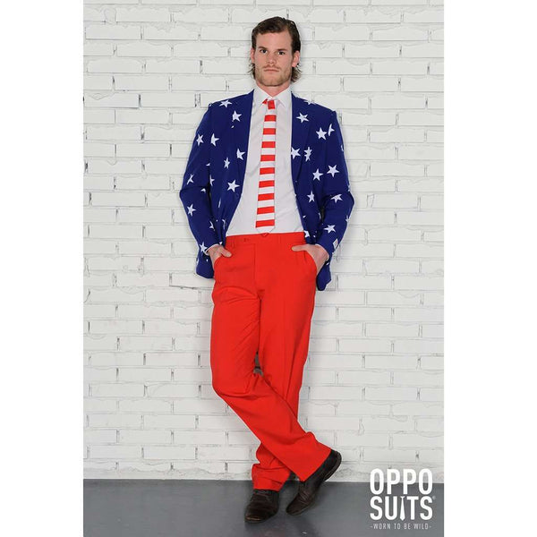 Stars and Stripes Suit by OppoSuits - FINAL SALE