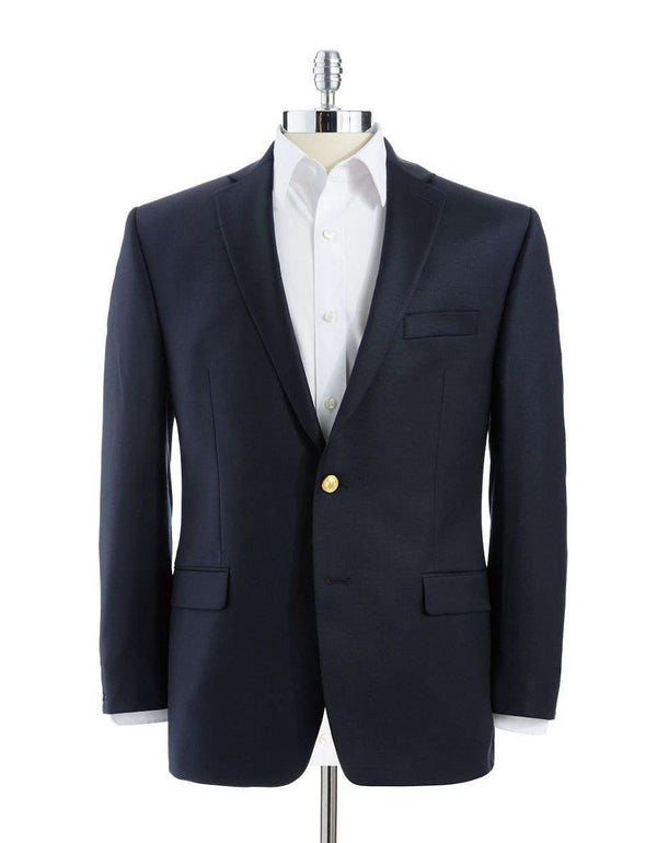 True Comfort Blazer in Navy by Ralph Lauren - FINAL SALE