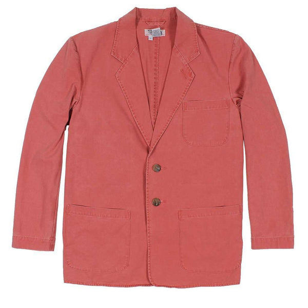 Men's Blazers & Suits - Unconstructed Sport Jacket In Nantucket Red By Murray's Toggery - FINAL SALE