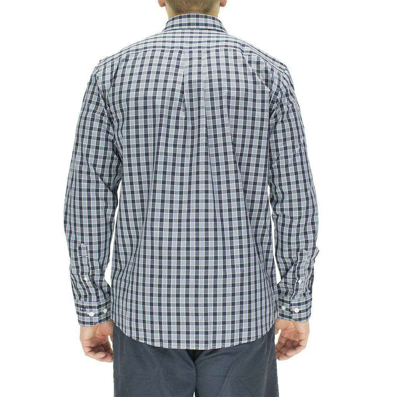 Auburn Button Down in Discovery Park Plaid by Cutter & Buck