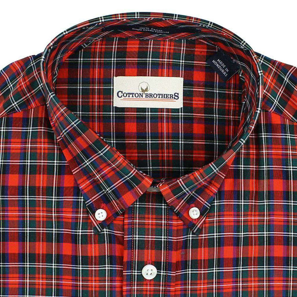 Button Down in Red Plaid by Cotton Brothers - FINAL SALE