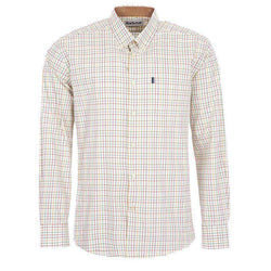 Men's Button Downs - Charles Tailored Fit Button Down In Lawn By Barbour