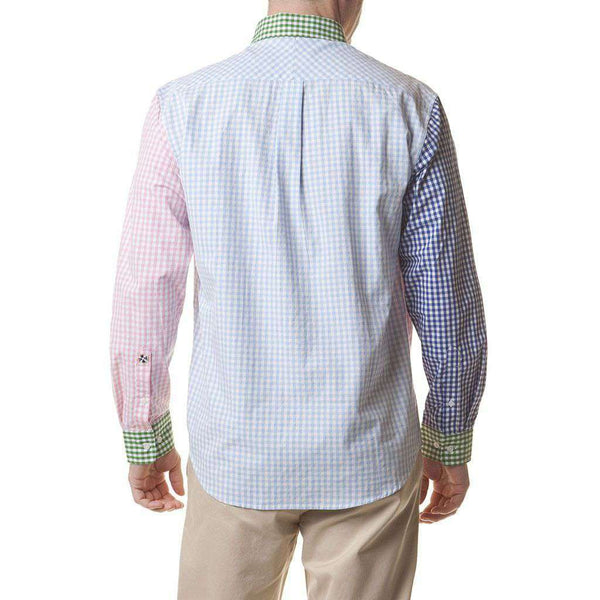 Chase Party Gingham Sport Shirt by Castaway Clothing - FINAL SALE