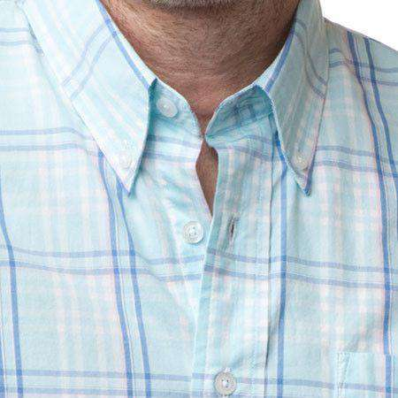 Chase Sport Shirt in Clearwater Plaid by Castaway Clothing