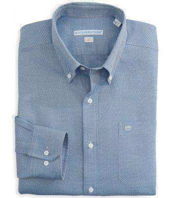 Men's Button Downs - Classic Fit Royal Oxford In Blue By Southern Tide