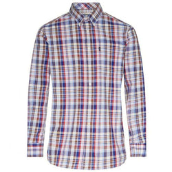 Men's Button Downs - Douglas Tailored Fit Button Down In Rustic Plaid By Barbour