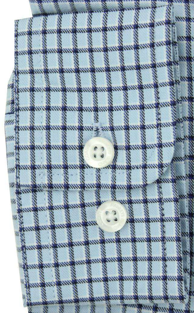 Men's Button Downs - Huntington Shirt In True Blue By Coast - FINAL SALE