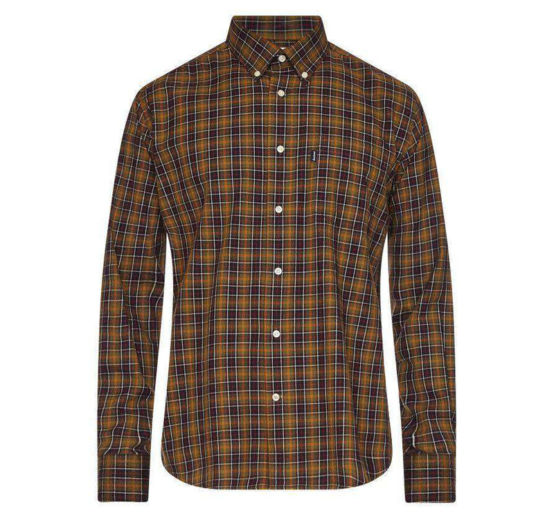 Men's Button Downs - Malcolm Shirt In Classic Tartan By Barbour