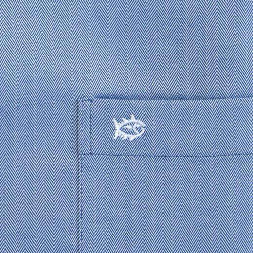 Modern Royalty Classic Fit Sport Shirt in Blue Lake by Southern Tide