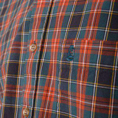 Montgomery Plaid Button Down in Red by Brewer's Lantern - FINAL SALE