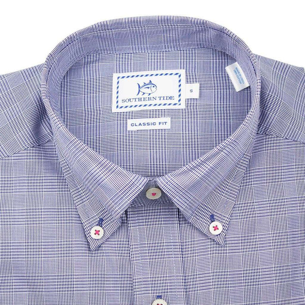 c3e33f96f35f Men s Button Downs - Moultrie Plaid Sport Shirt In Yacht Blue By Southern  Tide ...