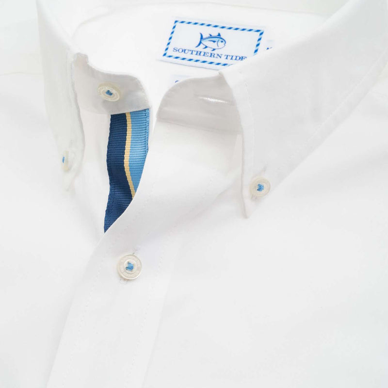 Ocean Point Sport Shirt in Classic White by Southern Tide
