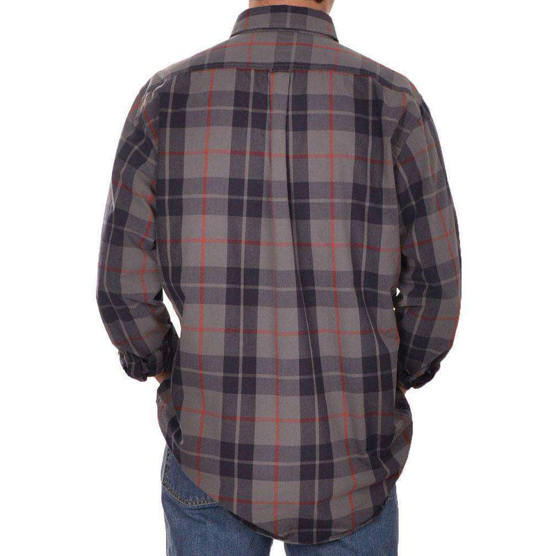 Plantation Plaid Button Down in Grey by Brewer's Lantern - FINAL SALE