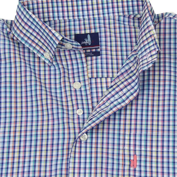 Riviera Prep-Formance Button Down in Maritime by Johnnie-O - FINAL SALE