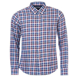 Men's Button Downs - Rory Tailored Fit Button Down In Grey Marl By Barbour