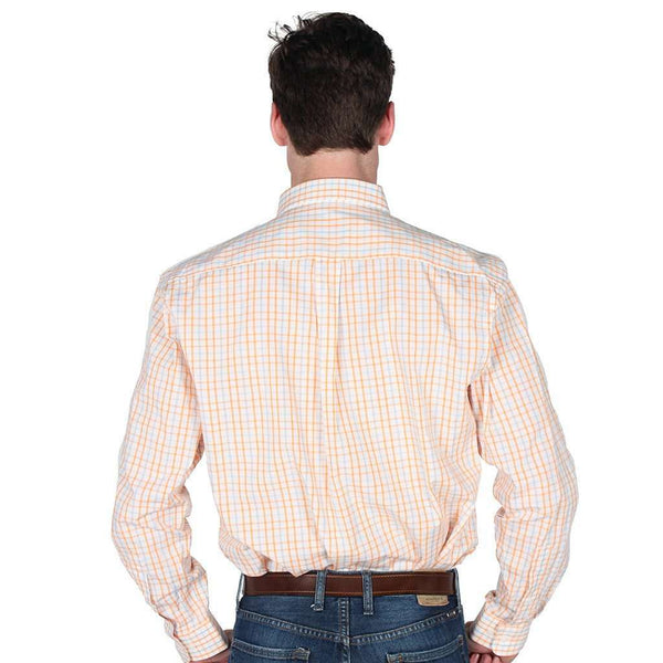 Sport Shirt in Orange and Blue Gingham by Coast