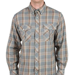 Sportsman Field Flannel Shirt in Grey by Southern Proper - FINAL SALE