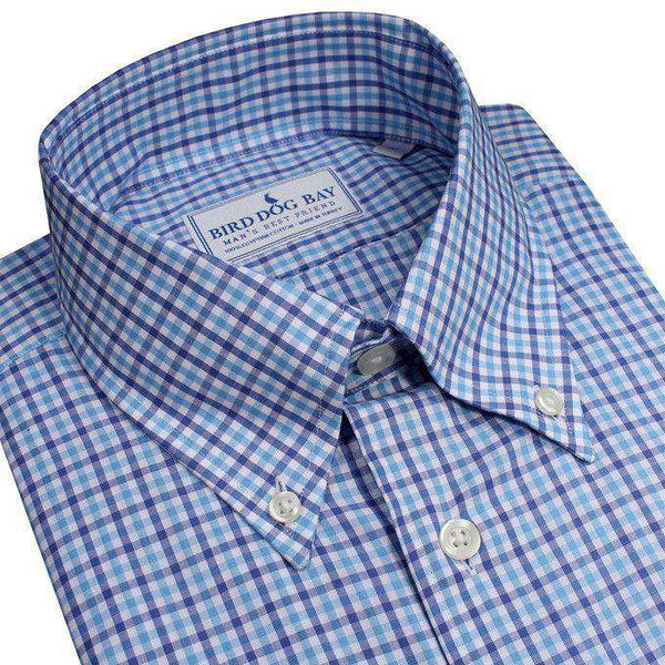 The Berwyn Button Down in Blue by Bird Dog Bay
