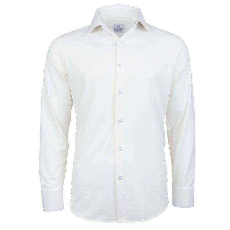"Men's Button Downs - The ""Blackman"" Button Down In White Gingham By Mizzen + Main"