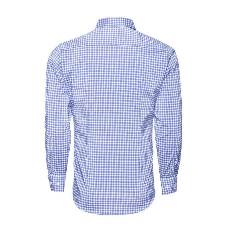 "The ""Howe"" Plaid Dress Shirt in Red, White, and Blue by Mizzen+Main"