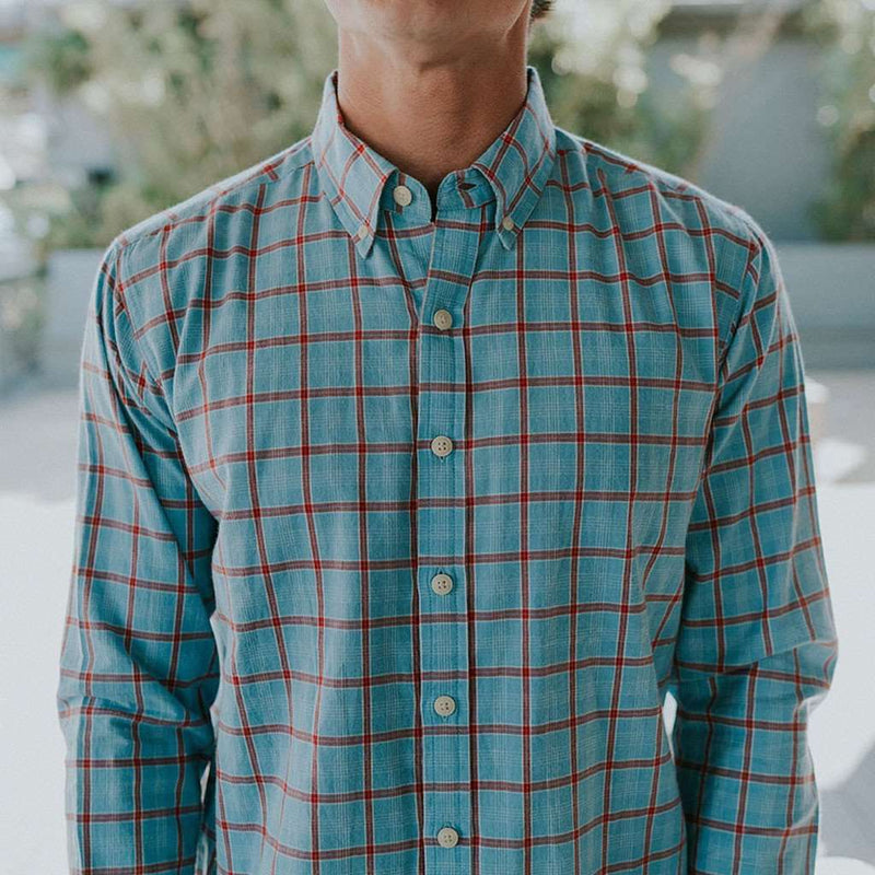 Men's Button Downs - The Nikko Shirt In Faded Denim By The Normal Brand - FINAL SALE