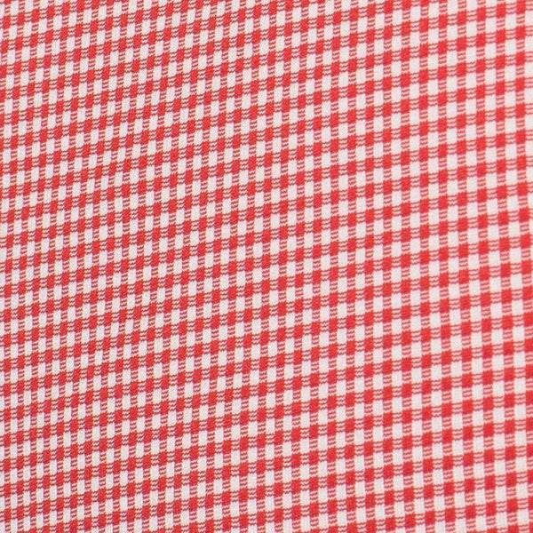 Men's Button Downs - The Spread Collar Gingham Dress Shirt In Hawthorne Red By Mizzen+Main