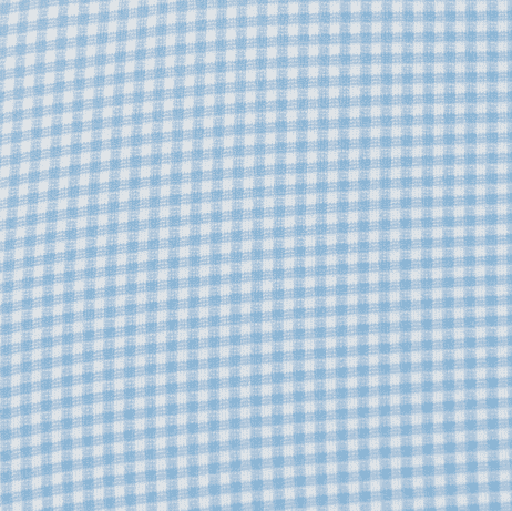 The Spread Collar Gingham Dress Shirt in Whitman Light Blue by Mizzen+Main