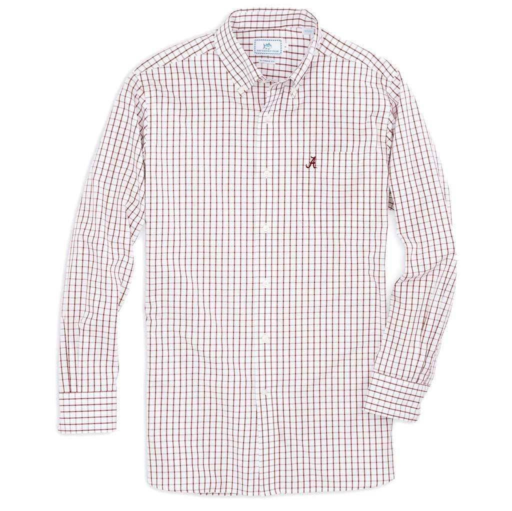 1f644b2ce men-s-button-downs-university-of-alabama-gameday-tattersall-sport-shirt -in-crimson-by-southern-tide-1.jpg?v=1519505169