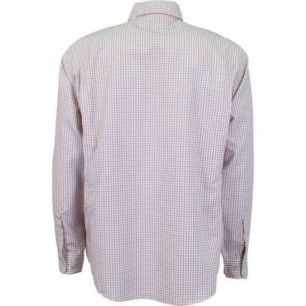 Men's Button Downs - Vertex Long Sleeve Technical Shirt In Laser By AFTCO - FINAL SALE