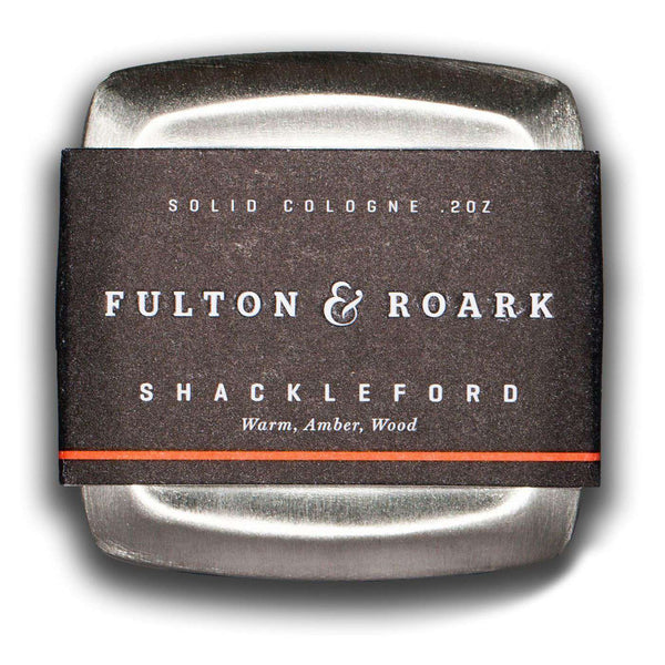 Solid Cologne in Shackleford by Fulton & Roark