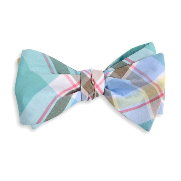 Men's Cummerbunds & Braces - Mint Julep Madras Cummerbund Set By High Cotton