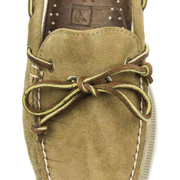 Men's Authentic Original 1-Eye Boat Shoe in Suede by Sperry