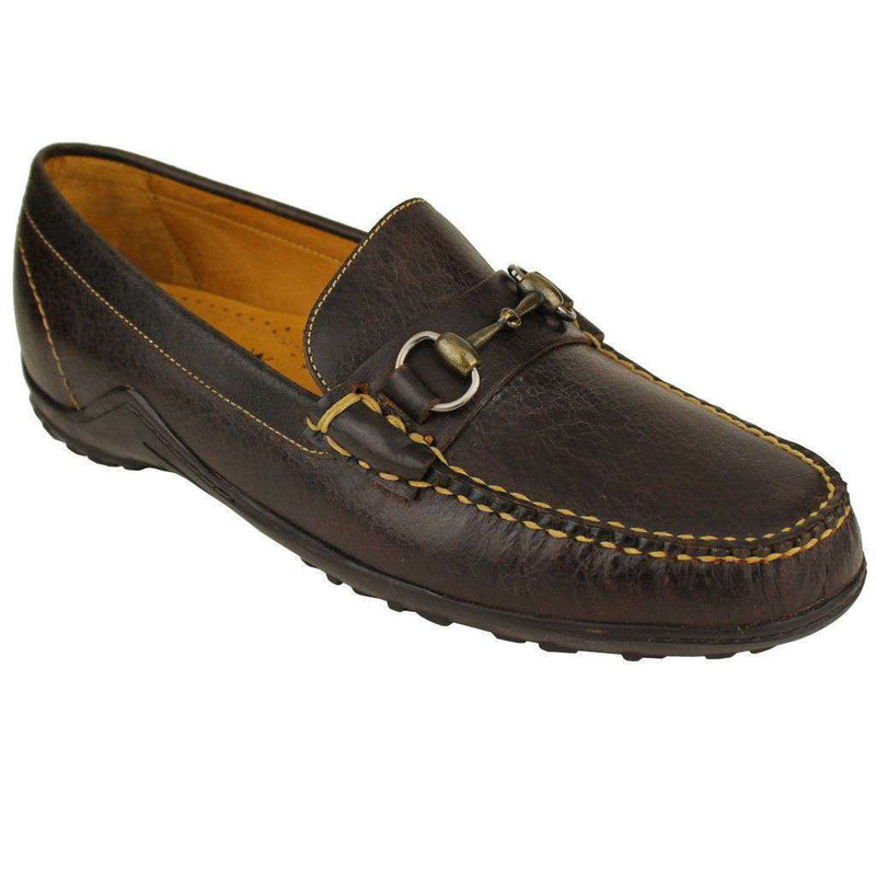 Men's Footwear - Bill Horse Bit Loafer In Walnut By Martin Dingman - FINAL SALE
