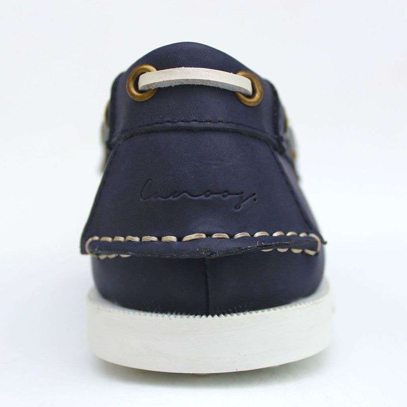 Boat Shoe Golf Shoe in Navy by Canoos